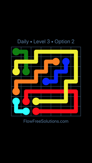 Solution and Answer to the Puzzle for Bridges Date Wednesday, March 23, 2016 Level 3
