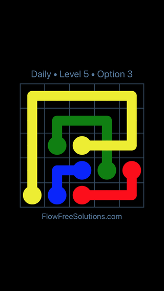 Solution and Answer to the Puzzle for Bridges Date Wednesday, April 18, 2018 Level 5