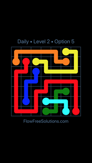 Solution and Answer to the Puzzle for Bridges Date Thursday, March 24, 2016 Level 2