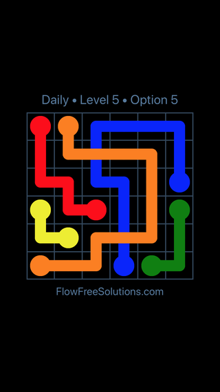 Solution and Answer to the Puzzle for Bridges Date Thursday, March 24, 2016 Level 5