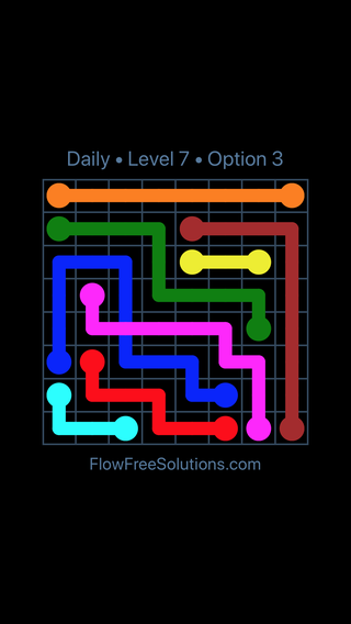 Solution and Answer to the Puzzle for Bridges Date Thursday, June 16, 2016 Level 7
