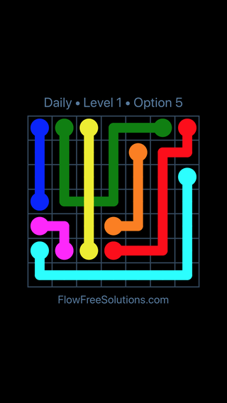 Solution and Answer to the Puzzle for Bridges Date Tuesday, May 31, 2016 Level 1