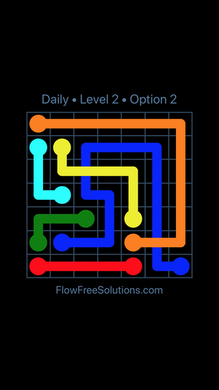 Solution and Answer to the Puzzle for Bridges Date Tuesday, March 8, 2016 Level 2