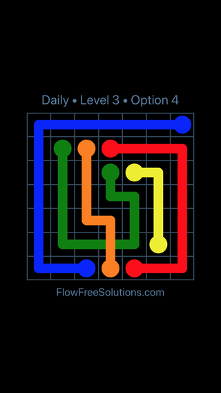 Solution and Answer to the Puzzle for Bridges Date Tuesday, March 8, 2016 Level 3