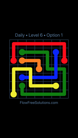 Solution and Answer to the Puzzle for Bridges Date Tuesday, March 8, 2016 Level 6