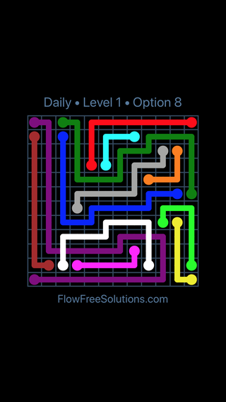 Solution and Answer to the Puzzle for Bridges Date Sunday, September 8, 2019 Level 1
