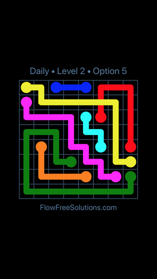 Solution and Answer to the Puzzle for Bridges Date Monday, October 8, 2018 Level 2