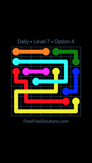 Solution and Answer to the Puzzle for Bridges Date Monday, March 28, 2016 Level 7