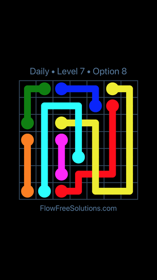 Solution and Answer to the Puzzle for Bridges Date Monday, September 9, 2019 Level 7