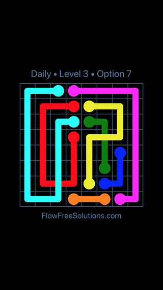 Solution and Answer to the Puzzle for Bridges Date Tuesday, September 10, 2019 Level 3