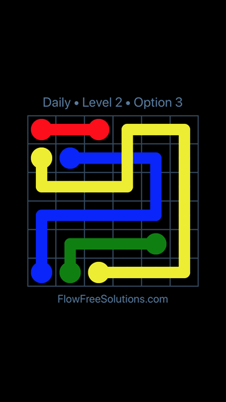 Solution and Answer to the Puzzle for Bridges Date Wednesday, October 10, 2018 Level 2