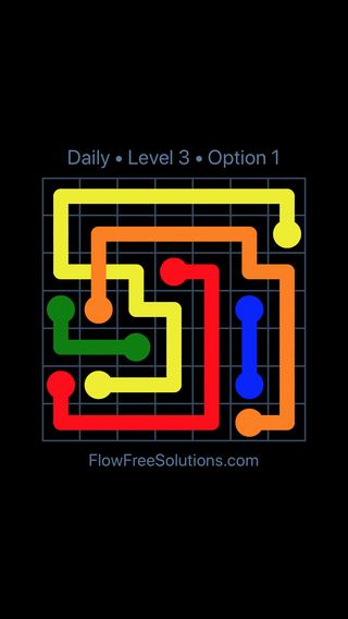 Solution and Answer to the Puzzle for Bridges Date Wednesday, March 30, 2016 Level 3