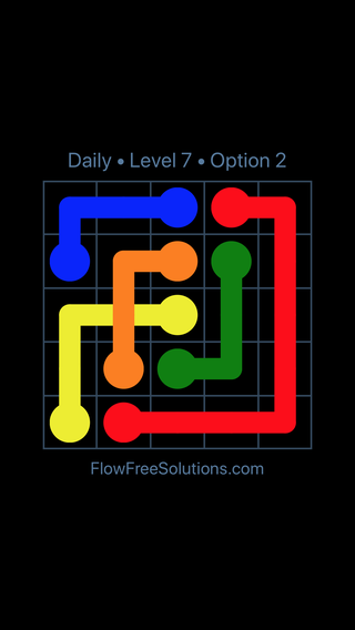 Solution and Answer to the Puzzle for Bridges Date Wednesday, June 22, 2016 Level 7