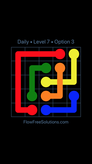 Solution and Answer to the Puzzle for Bridges Date Wednesday, March 30, 2016 Level 7