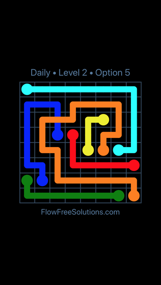 Solution and Answer to the Puzzle for Bridges Date Thursday, September 12, 2019 Level 2