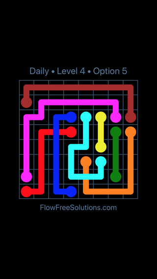 Solution and Answer to the Puzzle for Bridges Date Friday, April 1, 2016 Level 4