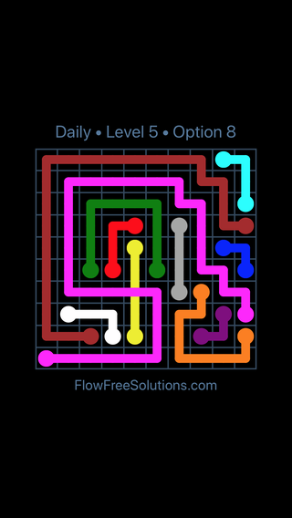Solution and Answer to the Puzzle for Bridges Date Friday, September 13, 2019 Level 5