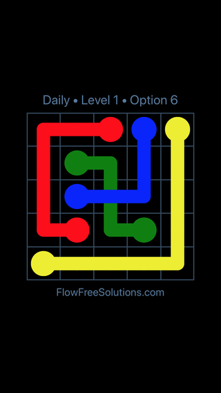 Solution and Answer to the Puzzle for Bridges Date Saturday, October 13, 2018 Level 1