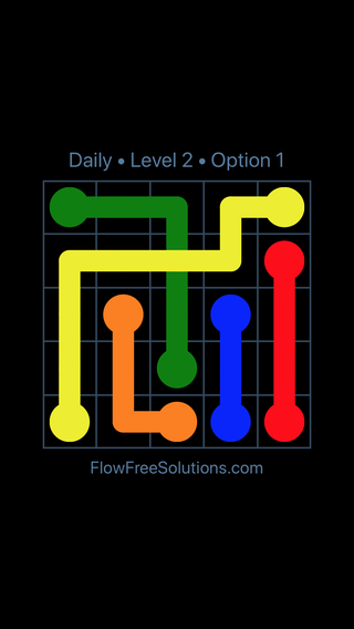 Solution and Answer to the Puzzle for Bridges Date Saturday, April 2, 2016 Level 2