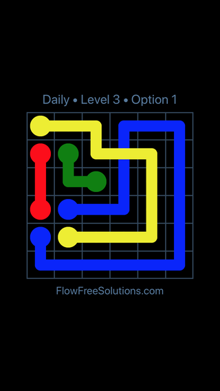 Solution and Answer to the Puzzle for Bridges Date Saturday, April 2, 2016 Level 3