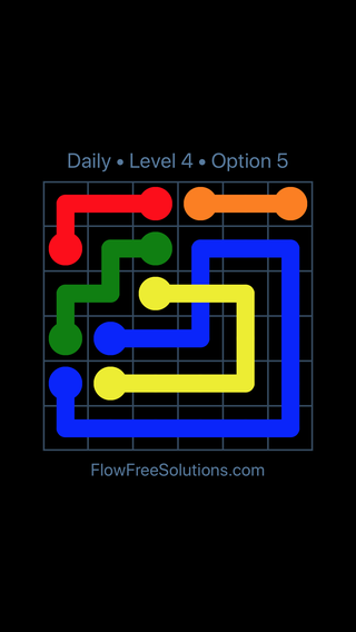 Solution and Answer to the Puzzle for Bridges Date Saturday, April 2, 2016 Level 4