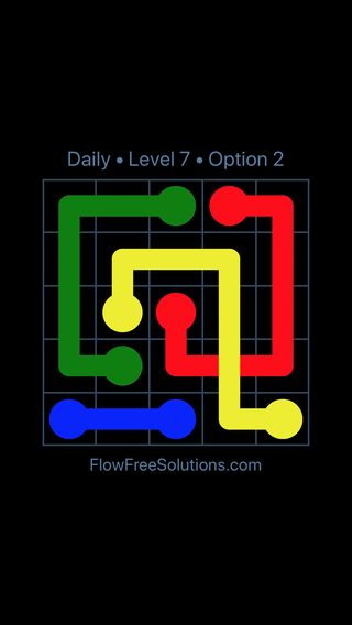Solution and Answer to the Puzzle for Bridges Date Sunday, April 3, 2016 Level 7