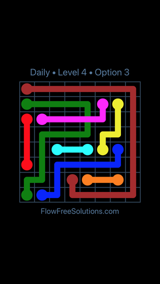 Solution and Answer to the Puzzle for Bridges Date Wednesday, March 9, 2016 Level 4