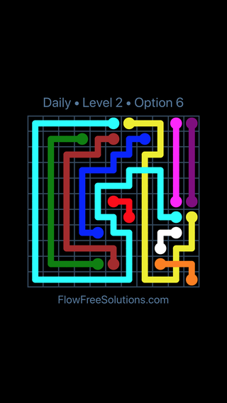 Solution and Answer to the Puzzle for Bridges Date Tuesday, June 28, 2016 Level 2