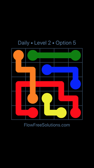 Solution and Answer to the Puzzle for Bridges Date Wednesday, April 6, 2016 Level 2