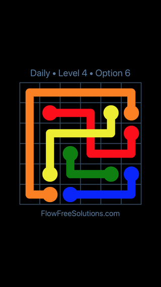 Solution and Answer to the Puzzle for Bridges Date Wednesday, April 6, 2016 Level 4