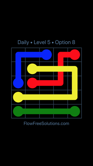 Solution and Answer to the Puzzle for Bridges Date Wednesday, January 9, 2019 Level 5