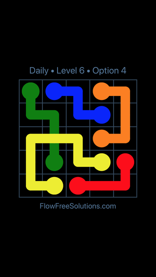Solution and Answer to the Puzzle for Bridges Date Wednesday, June 29, 2016 Level 6