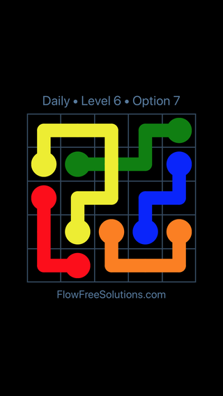 Solution and Answer to the Puzzle for Bridges Date Wednesday, January 9, 2019 Level 6