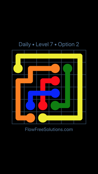 Solution and Answer to the Puzzle for Bridges Date Wednesday, June 29, 2016 Level 7