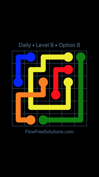 Solution and Answer to the Puzzle for Bridges Date Wednesday, January 9, 2019 Level 8