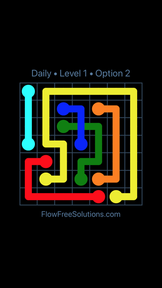 Solution and Answer to the Puzzle for Bridges Date Friday, July 1, 2016 Level 1