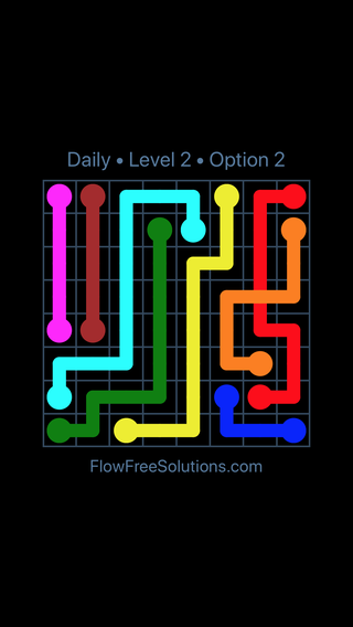 Solution and Answer to the Puzzle for Bridges Date Friday, April 8, 2016 Level 2