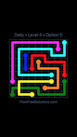 Solution and Answer to the Puzzle for Bridges Date Friday, January 11, 2019 Level 4