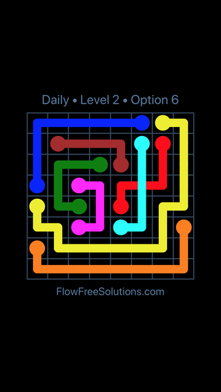 Solution and Answer to the Puzzle for Bridges Date Saturday, July 2, 2016 Level 2