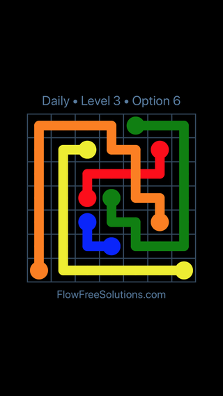 Solution and Answer to the Puzzle for Bridges Date Saturday, April 9, 2016 Level 3