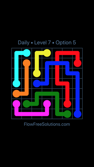 Solution and Answer to the Puzzle for Bridges Date Saturday, July 2, 2016 Level 7