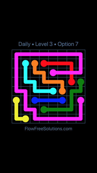 Solution and Answer to the Puzzle for Bridges Date Sunday, January 13, 2019 Level 3