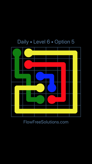 Solution and Answer to the Puzzle for Bridges Date Monday, April 11, 2016 Level 6