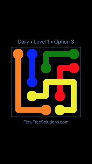 Solution and Answer to the Puzzle for Bridges Date Tuesday, April 12, 2016 Level 1