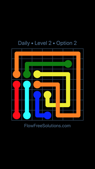 Solution and Answer to the Puzzle for Bridges Date Tuesday, February 13, 2018 Level 2