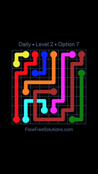 Solution and Answer to the Puzzle for Bridges Date Wednesday, April 13, 2016 Level 2