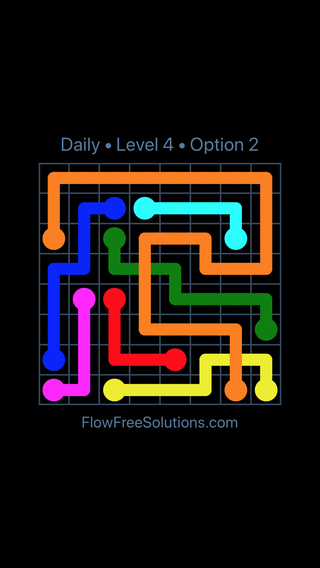 Solution and Answer to the Puzzle for Bridges Date Wednesday, July 6, 2016 Level 4