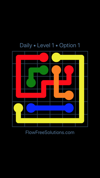 Solution and Answer to the Puzzle for Bridges Date Thursday, February 15, 2018 Level 1