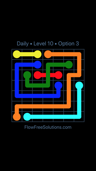 Solution and Answer to the Puzzle for Bridges Date Thursday, February 15, 2018 Level 10