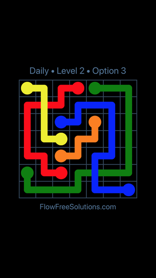 Solution and Answer to the Puzzle for Bridges Date Thursday, February 15, 2018 Level 2